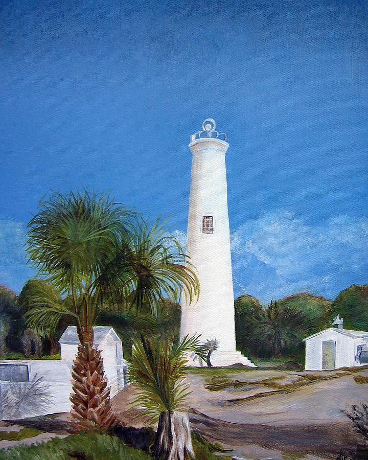 Egmont Key Lighthouse Painting