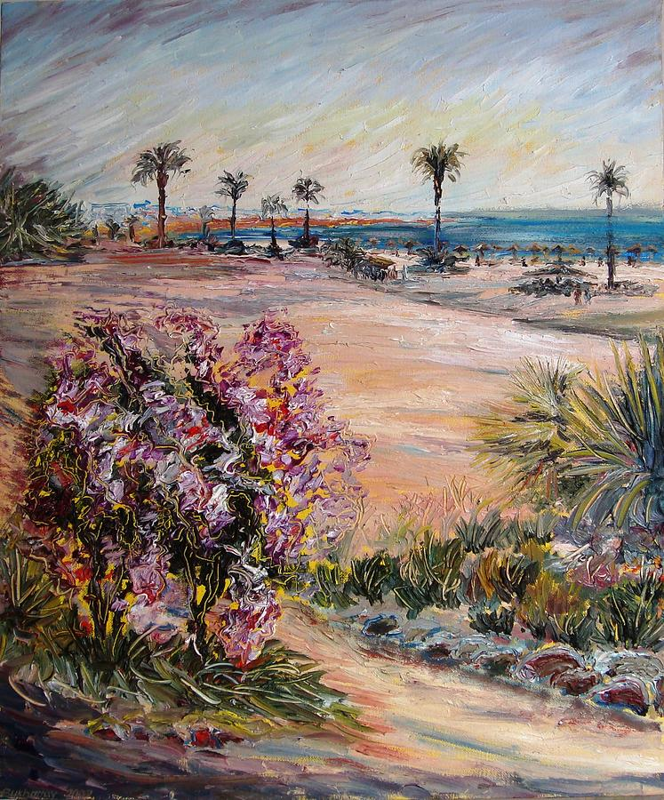 Egypt Painting - Egypt Colors 1 by Alexander Bukhanov
