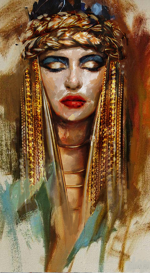 Egypt Painting - Egyptian Culture 4 by Mahnoor Shah