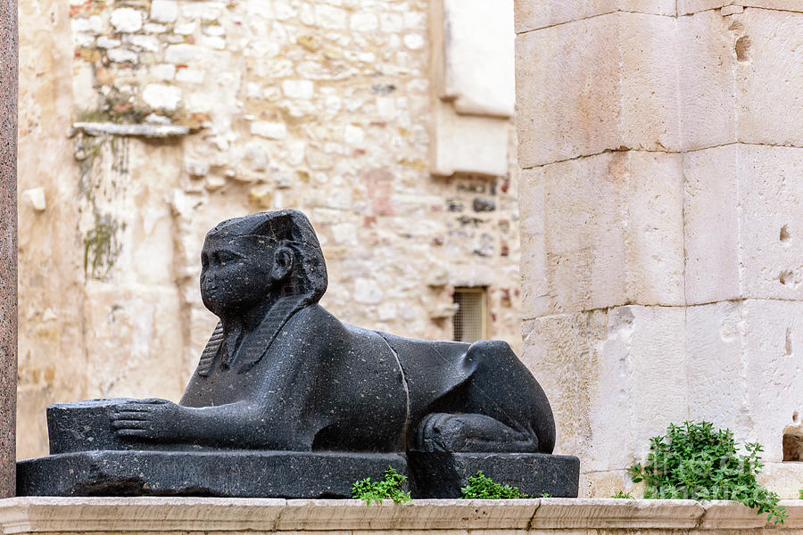 Image result for The Peristyle sphinx in Split
