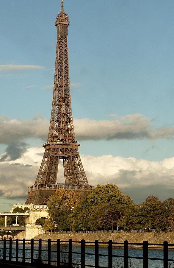 Eiffel Photograph - Eiffel 2588 by Charles  Ridgway