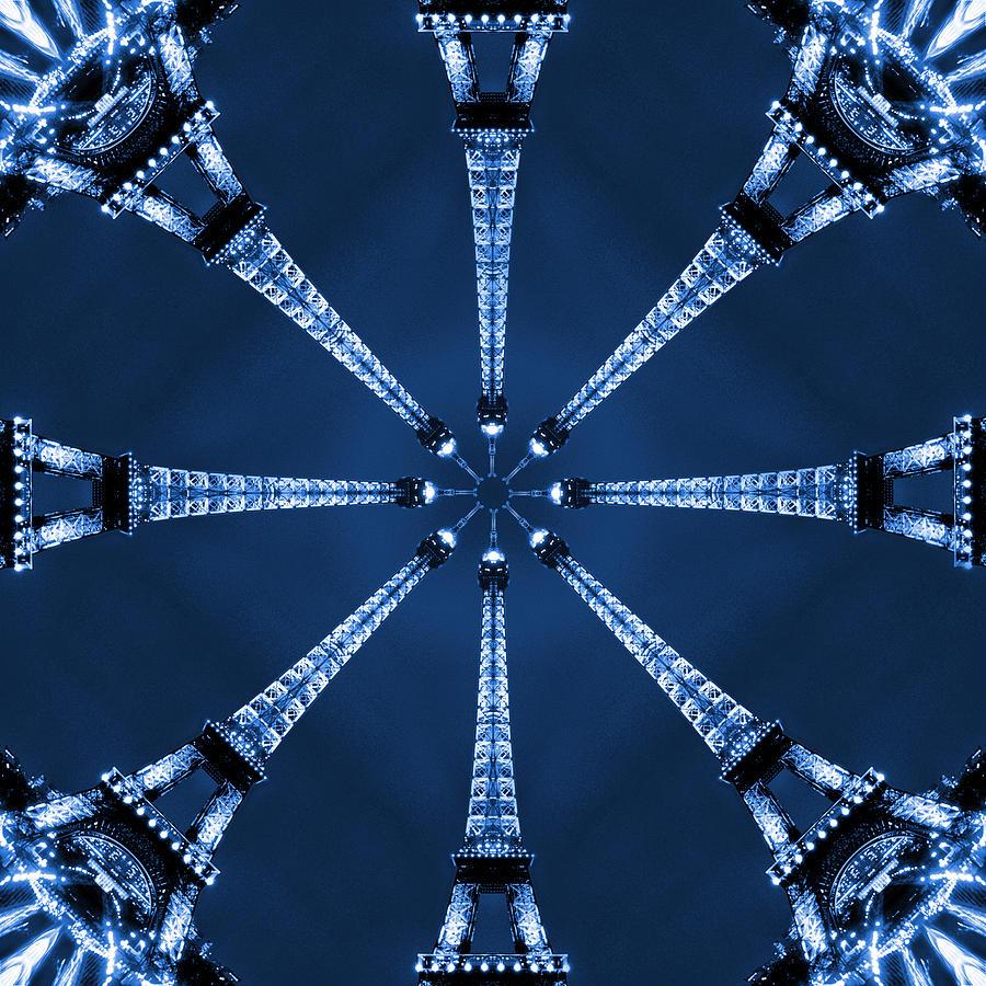 Abstract Photograph - Eiffel Art 17 by Mike McGlothlen