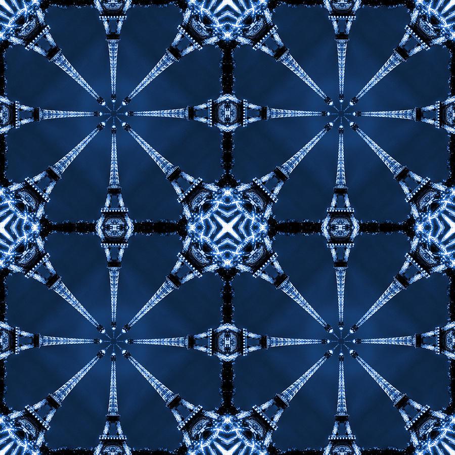Abstract Photograph - Eiffel Art 22 by Mike McGlothlen