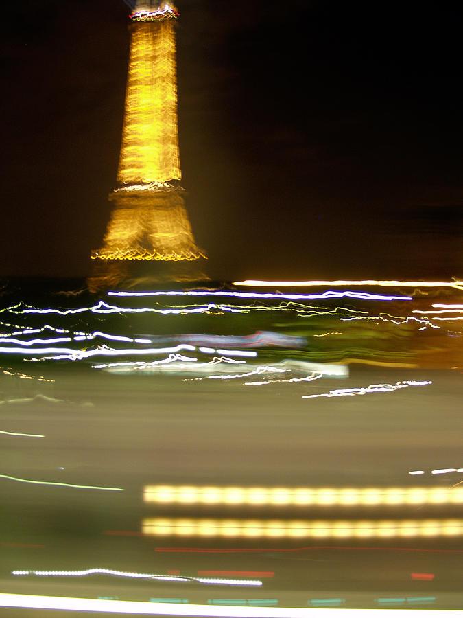 Eiffel Photograph - Eiffel In Motion by Mark Currier