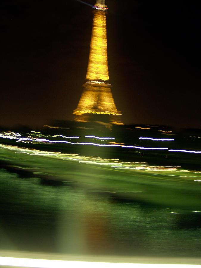 Eiffel Photograph - Eiffel Moves by Mark Currier