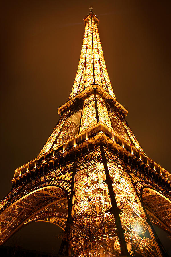 Eiffel Photograph - Eiffel by Skip Hunt