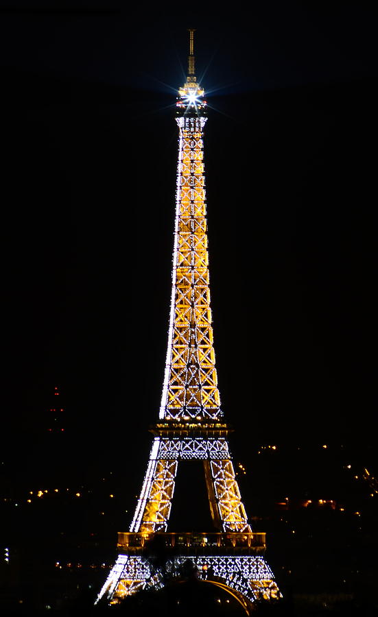 Eiffel Tour Photograph - Eiffel Tour 2 by Riad Belhimer