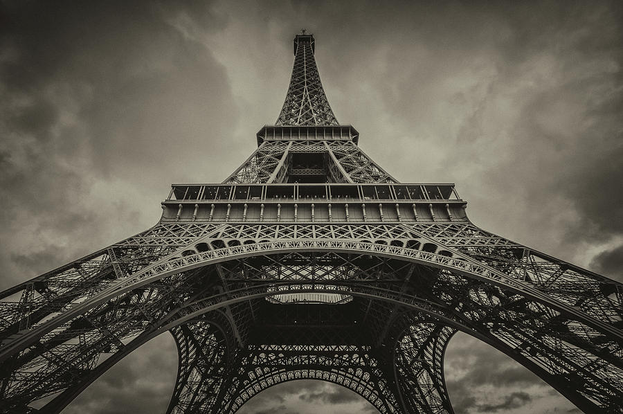 Europe Photograph - Eiffel Tower 1 by Lindy Grasser