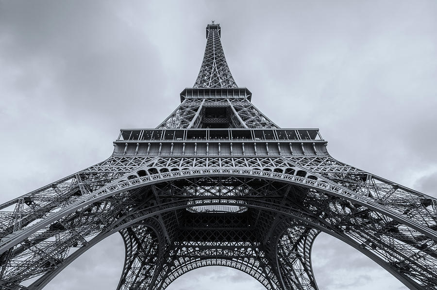 Europe Photograph - Eiffel Tower 3 by Lindy Grasser