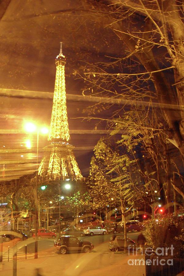 Paris Photograph - Eiffel Tower By Bus Tour by Felipe Adan Lerma