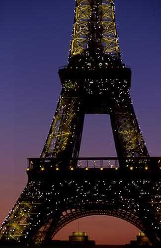 Paris Photograph - Eiffel Tower by Catherine Kelly