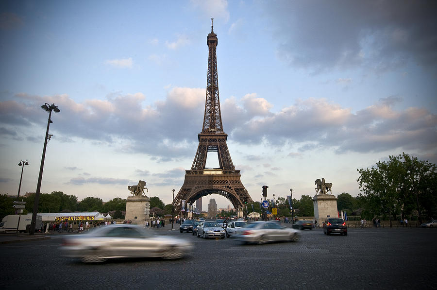 Europe Photograph - Eiffel Tower by Krista  Corcoran Photography