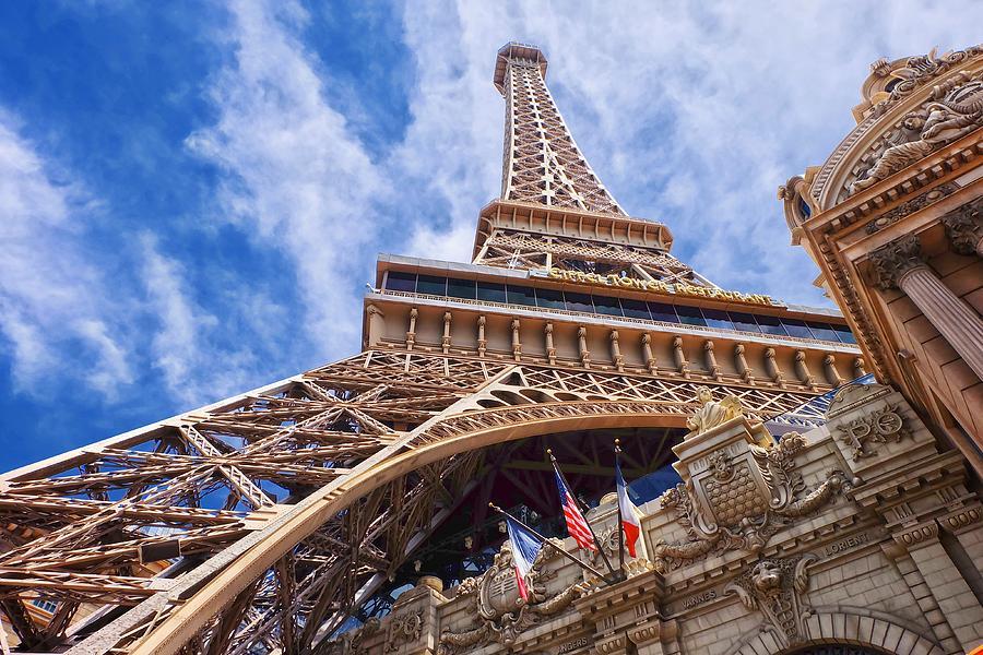 Eiffel Tower Las Vegas  by Ricardo J Ruiz de Porras