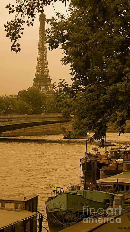 Eiffel Photograph - Eiffel Tower by Louise Fahy