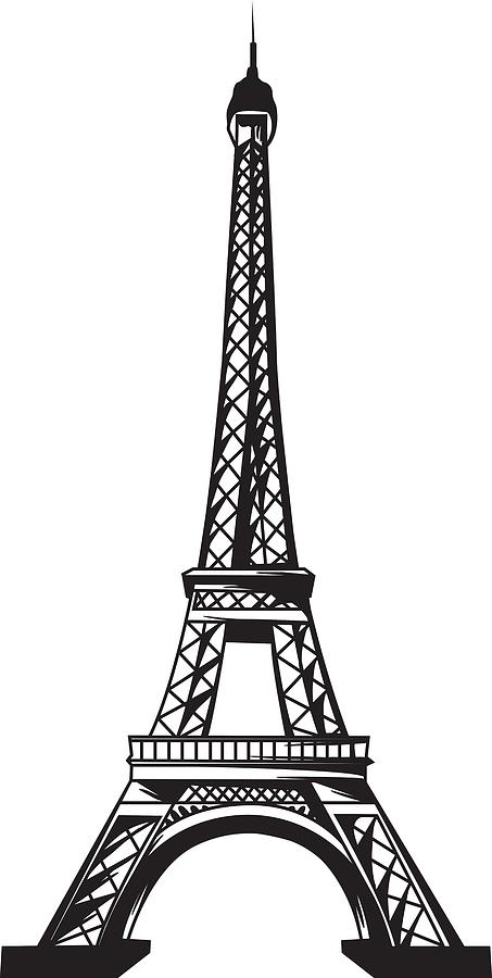 Eiffel Tower Up Digital Art by Stanley Mathis