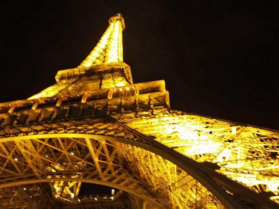 France Photograph - Eiffel Under by Frank Nicolato