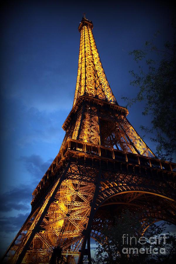 Eiffel Photograph - Eiffels Magic by Lene Pieters