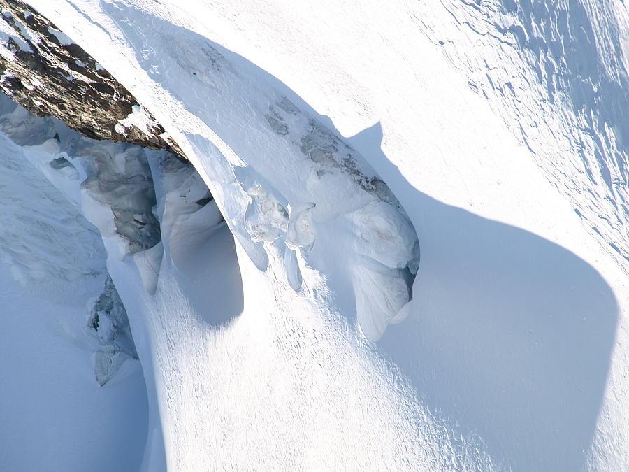 Glacier Photograph - Eiger by Randall Slinkard