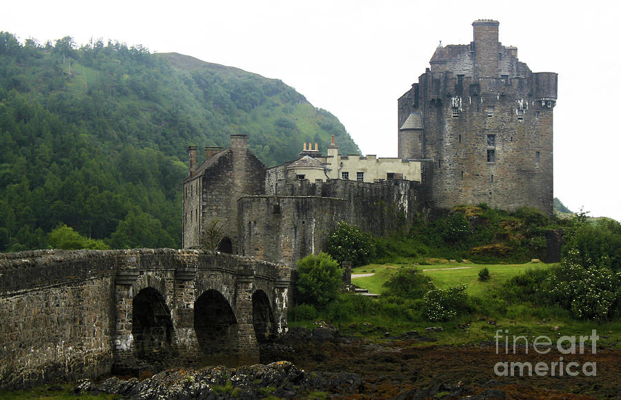 Eilean Donan Castle 13th Century Medieval Castle by Gregory Dyer