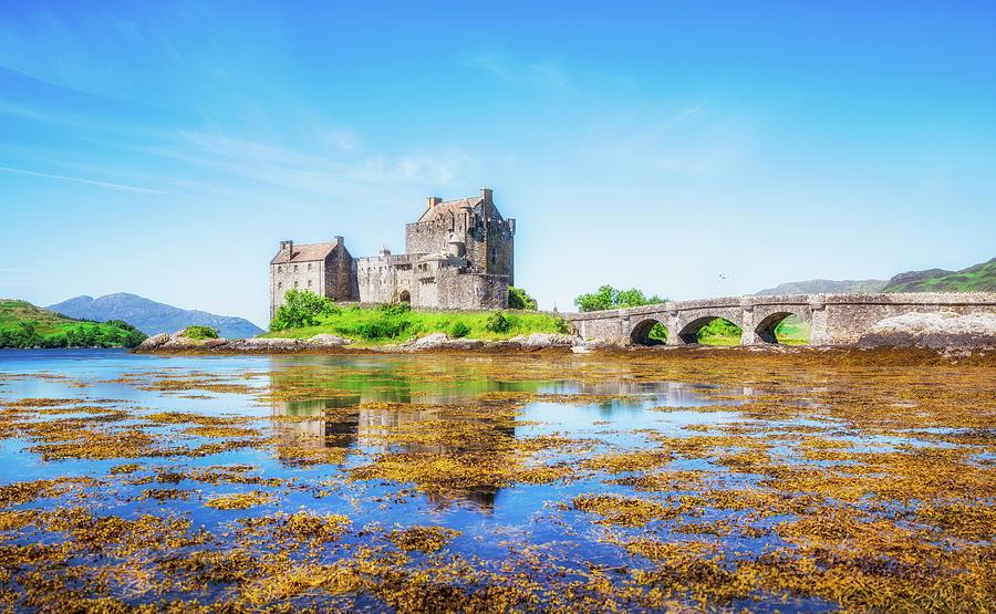 Eilean Donan Photograph - Eilean Donan in Summer by Roy McPeak