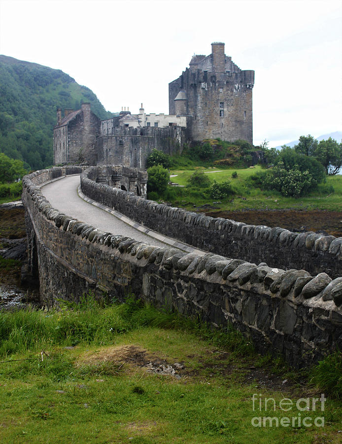 Eilean Donan Medieval Castle by Gregory Dyer