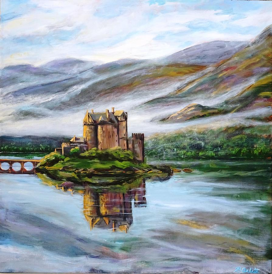 Eilean Donan in the Mist by BRENT ARLITT