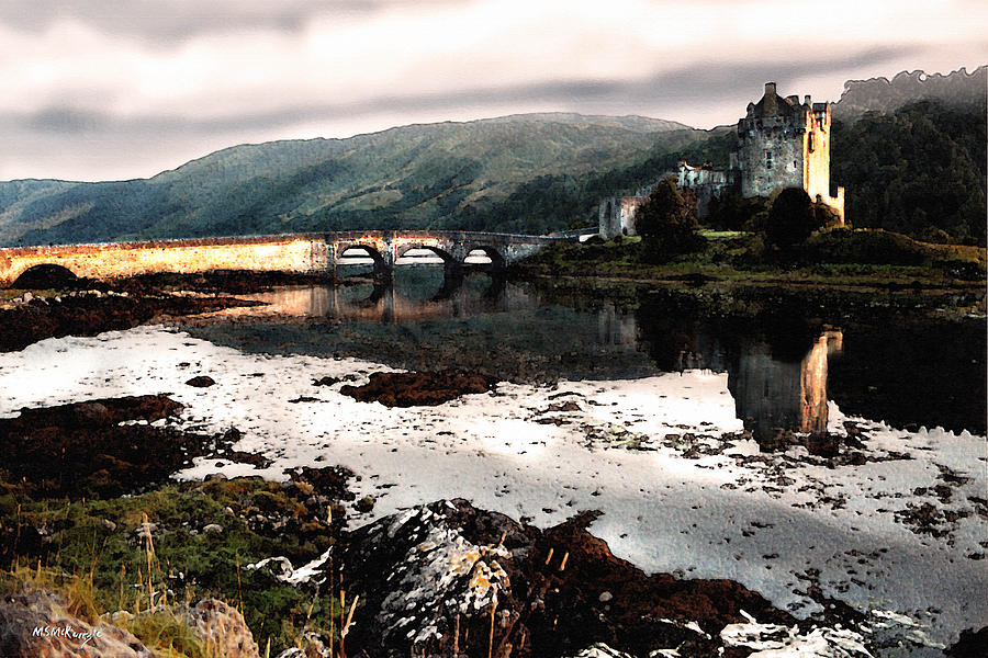 Scotland Painting - Eileen Donan II by M S McKenzie
