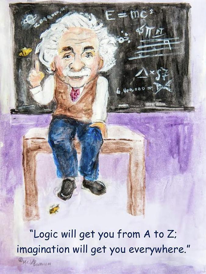 Einstein and Imagination by Claremaria Vrindaji Bowman