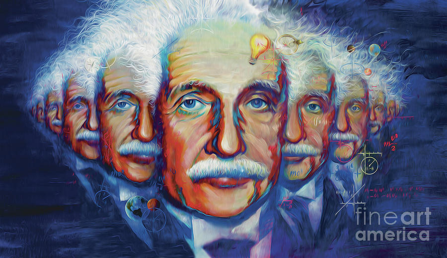 Einstein in theory by Rob Corsetti