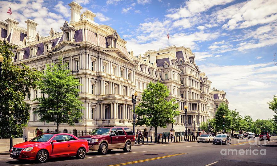Architecture Photograph - Eisenhower Executive Office Building by Cecilius Concepcion