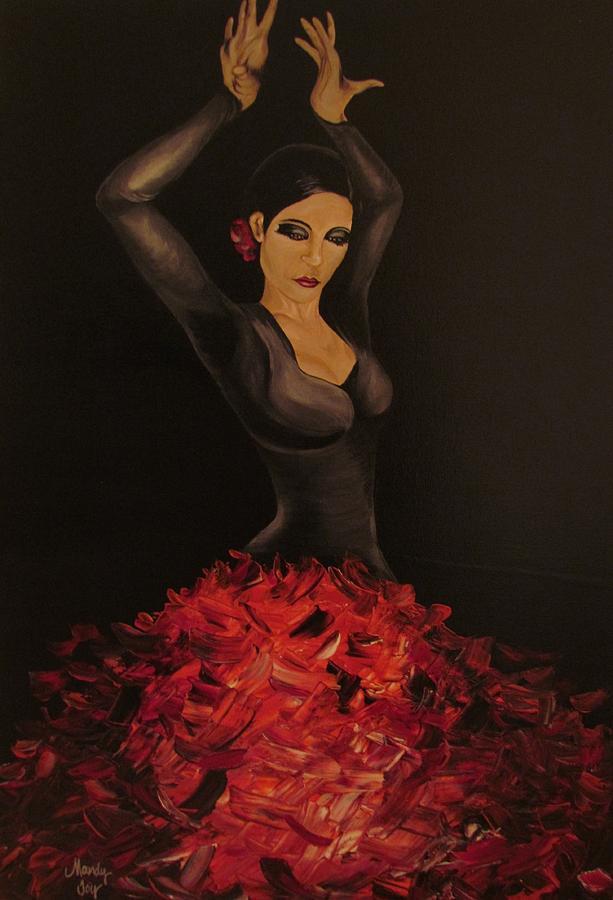 El Baile Flamenco De Carmen by Mandy Joy