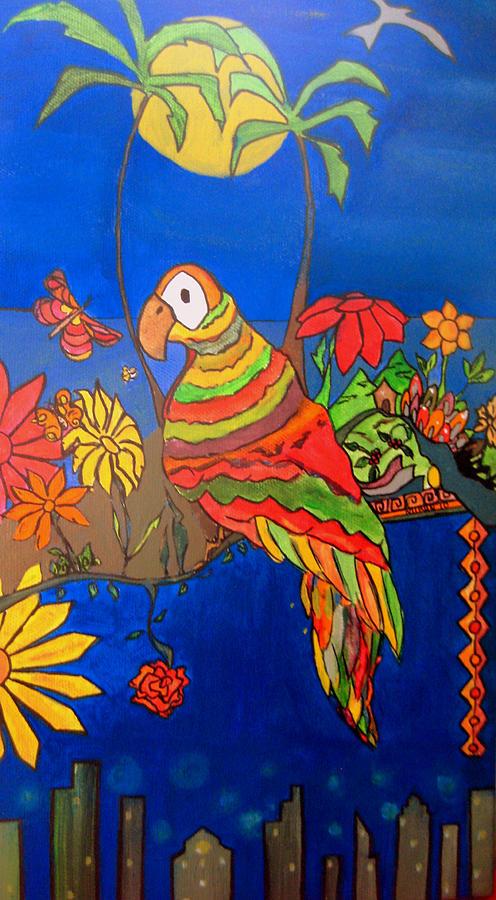 Bird Painting - El Bird by MikAn sArt