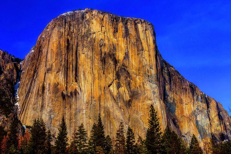 El Capitan Photograph - El Capitan Mountain by Garry Gay