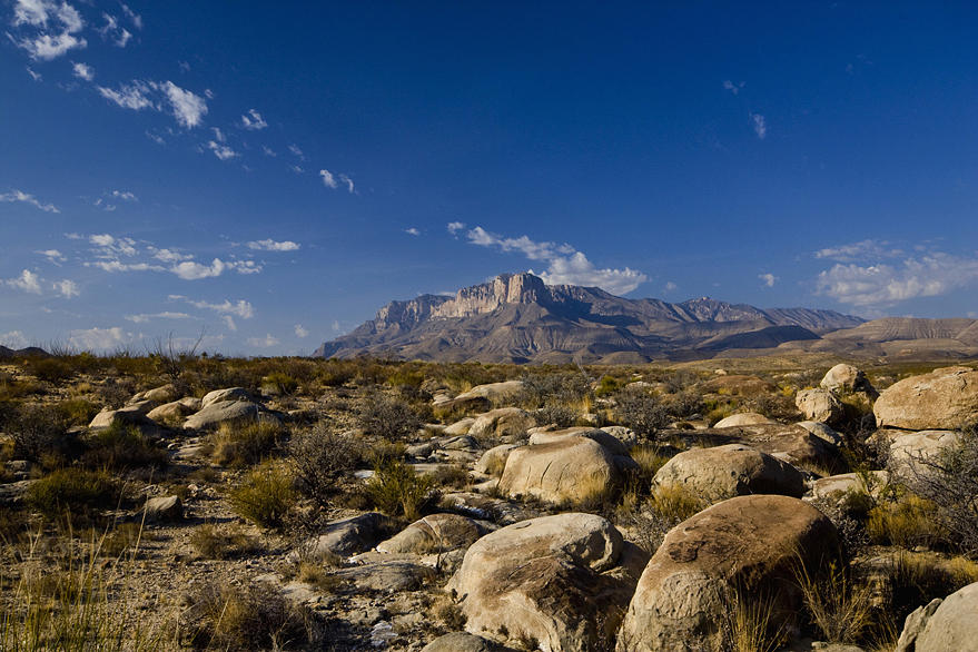 Nature Photograph - El Captain West Texas by Kelley Swinney