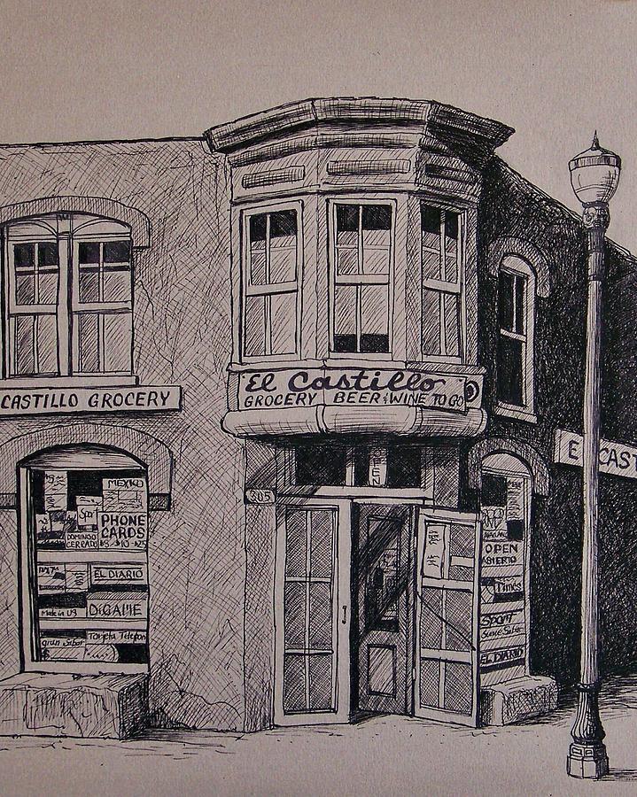 Drawing Drawing - El Castillo by Candy Mayer