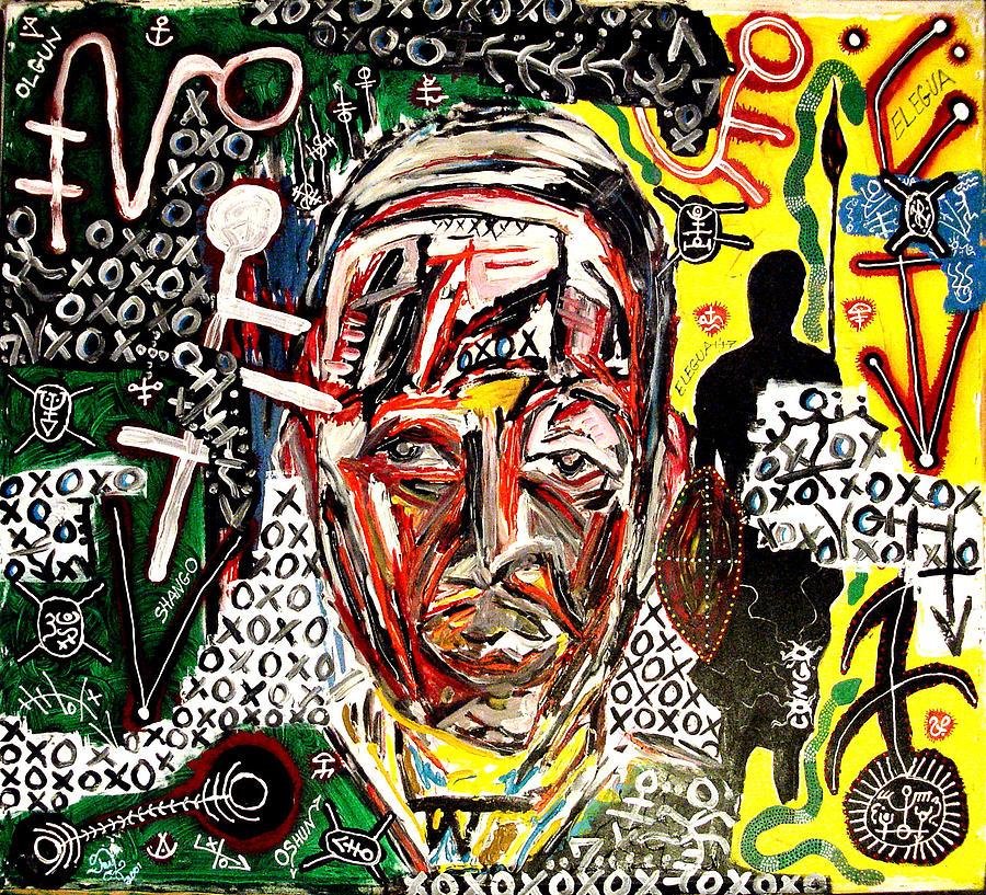 El Congo Painting by Jay Lonewolf