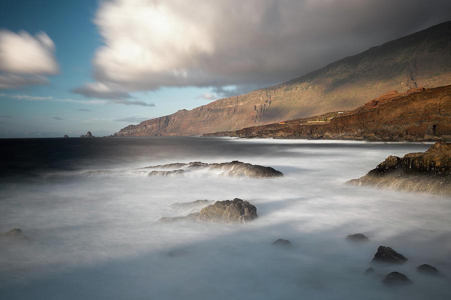 El Hierro Photograph - El Golfo by Holger Nimtz