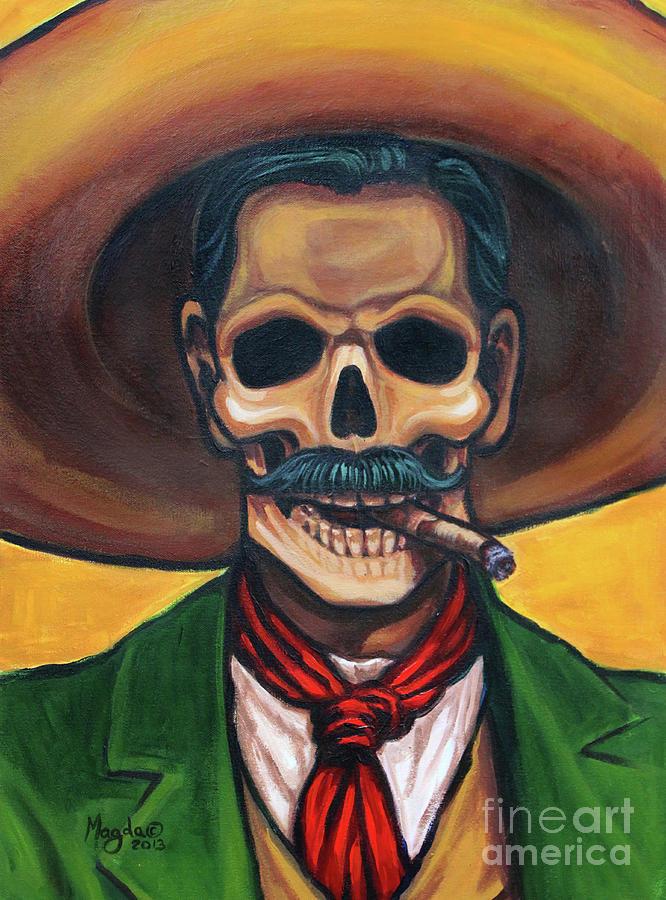 Pancho Villa Skull