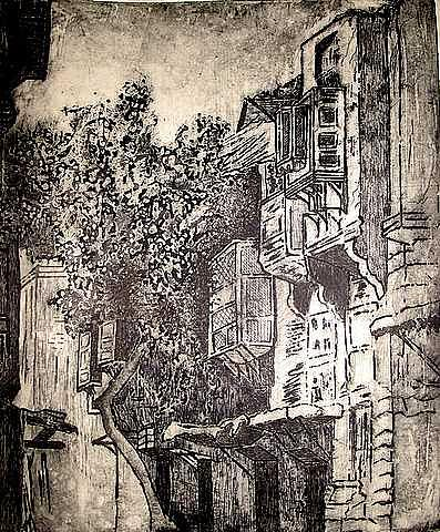 El Hara Print by Samah Fahmy