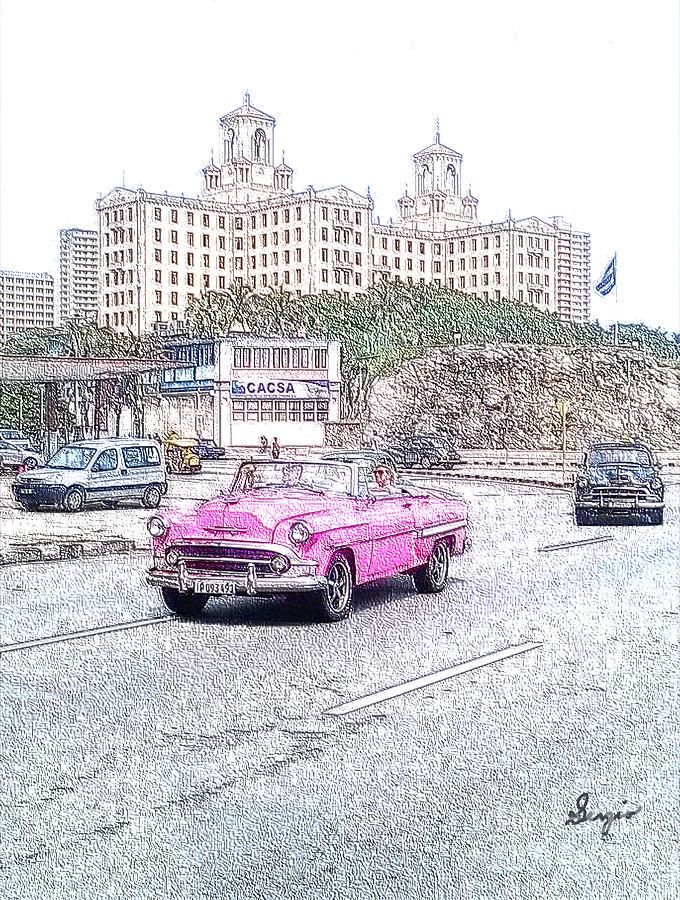 Havana Photograph - El Hotel Nacional by Sergio B