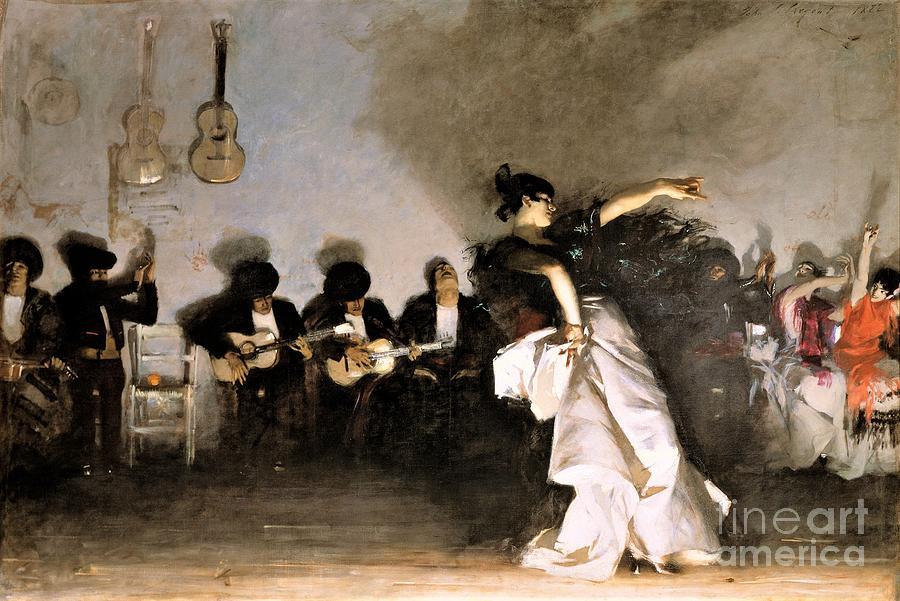 El Jaleo Painting