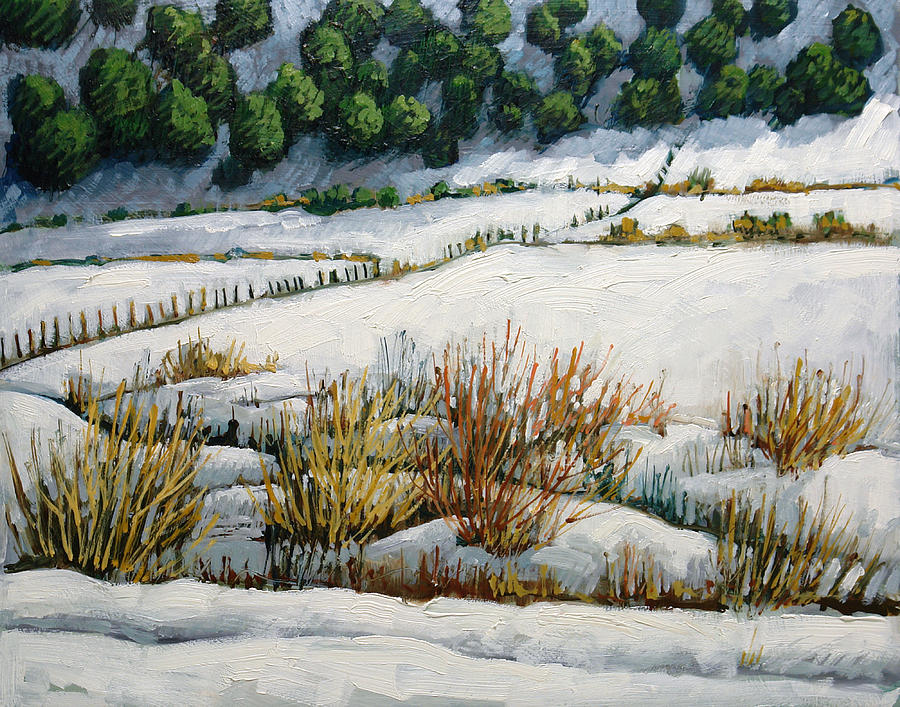 Southwest Painting - El Llano by Donna Clair