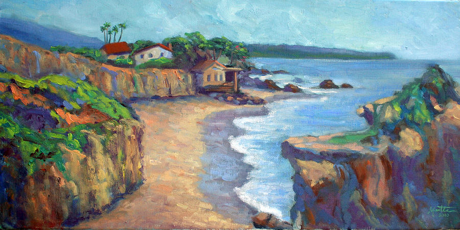 Beach Painting - El Matador State Beach by Athena Mantle