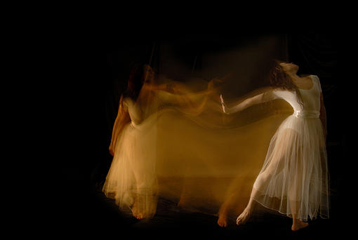 Dancer Photograph - Ela Blur 2006 by Peter Adams