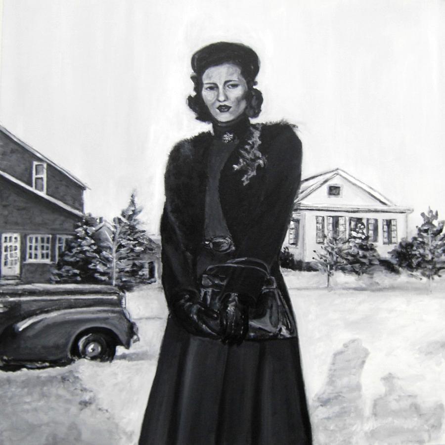 Woman Painting - Elda by Natalie Mae Richards