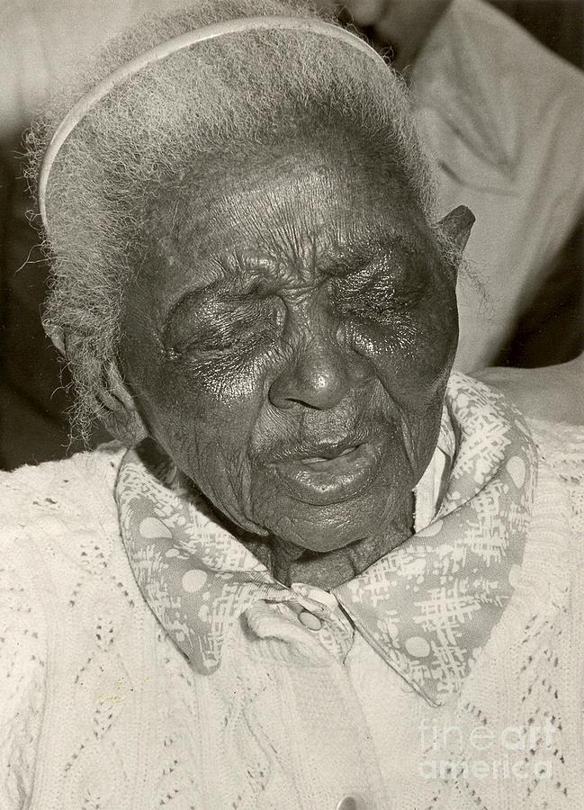Elderly Photograph - Elderly Woman by Andrea Simon