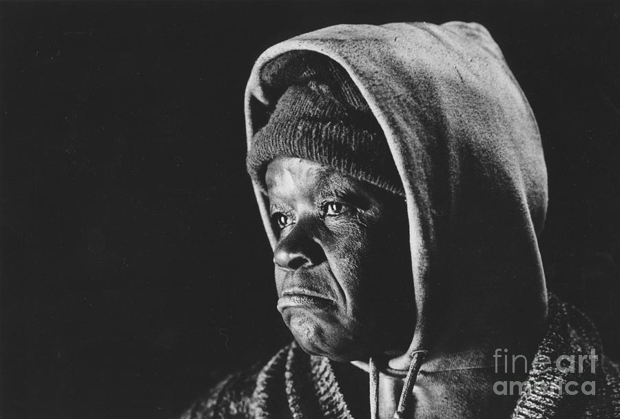 Woman Photograph - Elderly Woman by Jim Wright