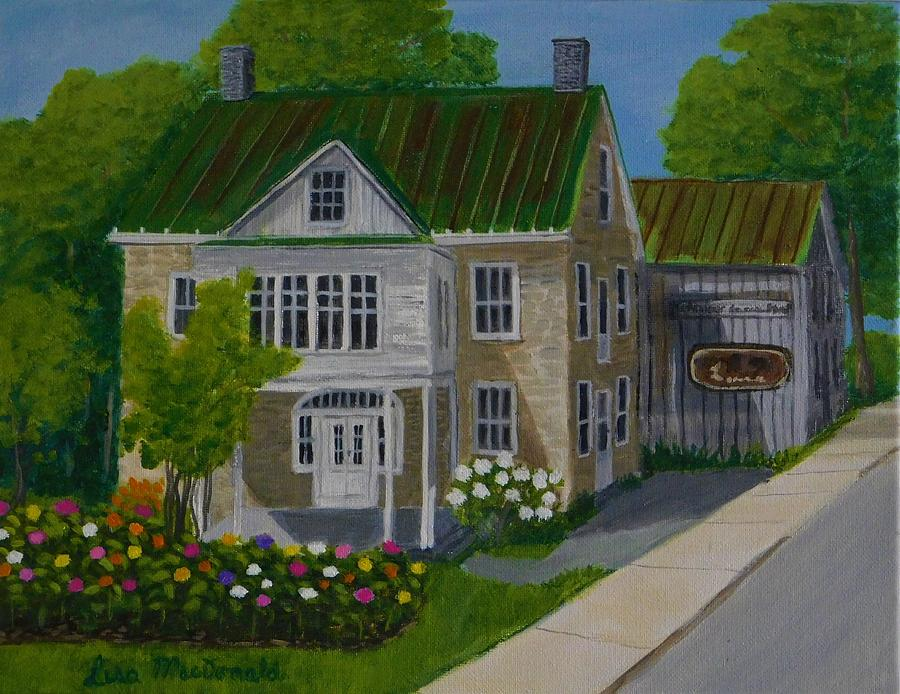 Landscape Painting - Eleanors  by Lisa MacDonald