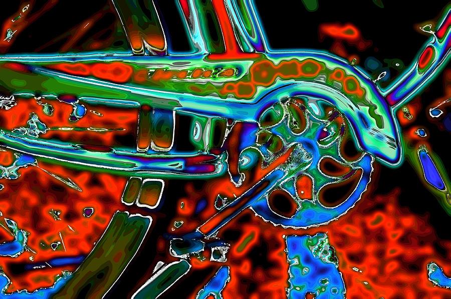 Sprocket Photographs Digital Art - Electra Number 2 by Lyle  Huisken