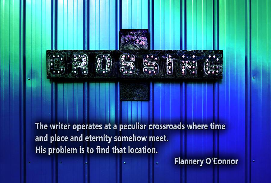 Electric crossing by Melanie Maslaniec